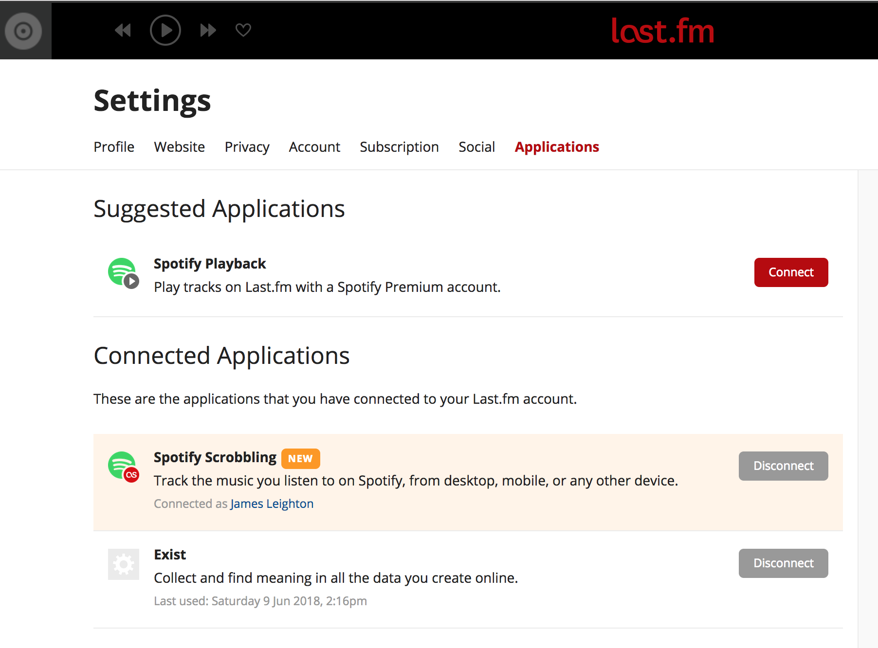 How To Scrobble To Last Fm With Spotify Connect