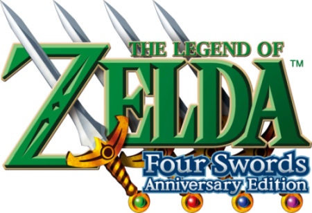 Finished Legend Of Zelda Four Swords Anniversary Edition For Nintendo 3ds